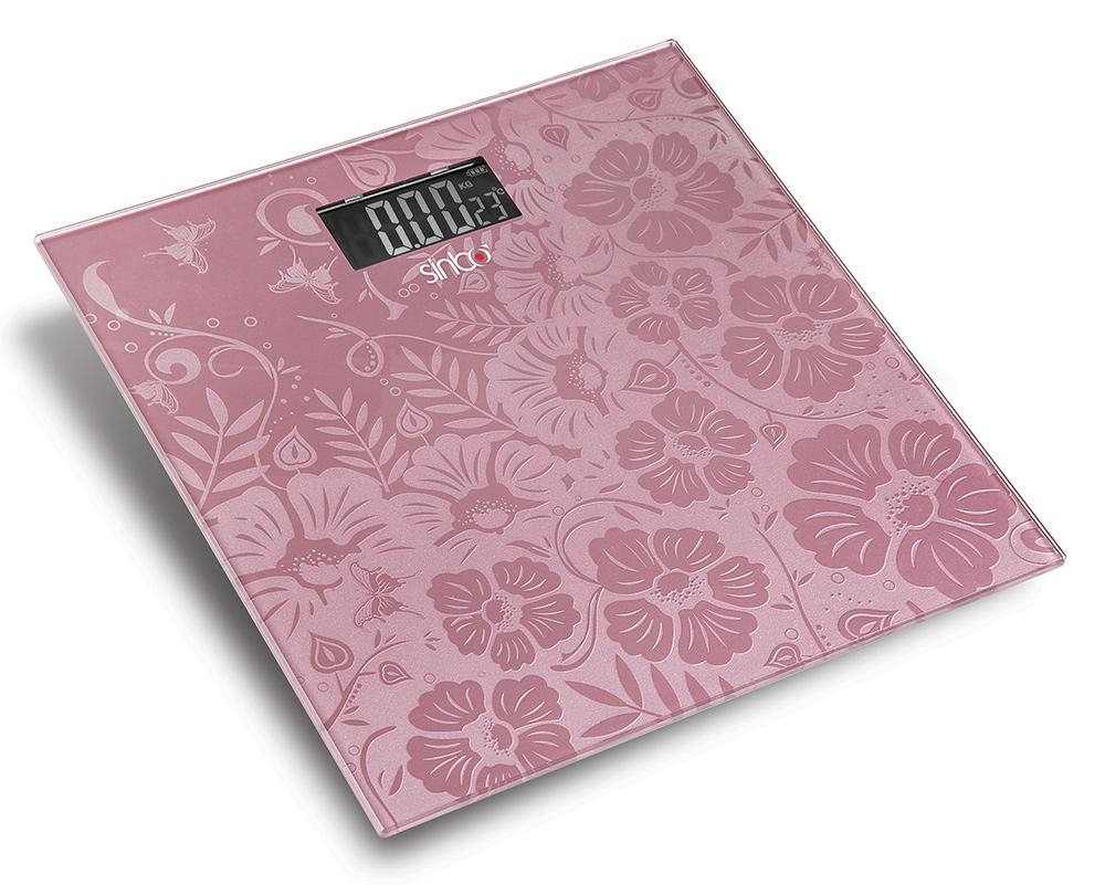 Sinbo SBS 4445, Pink напольные весы
