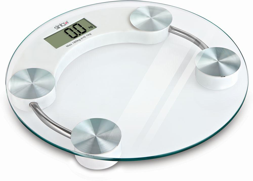 Sinbo SBS 4442 весы напольные электронныеSBS 4442Электронные весы с автоматическим включением/выключением, индикаторами разряженной батарейки и перегрузки. Максимальный вес - 180 кг, точность измерения - 100 г.