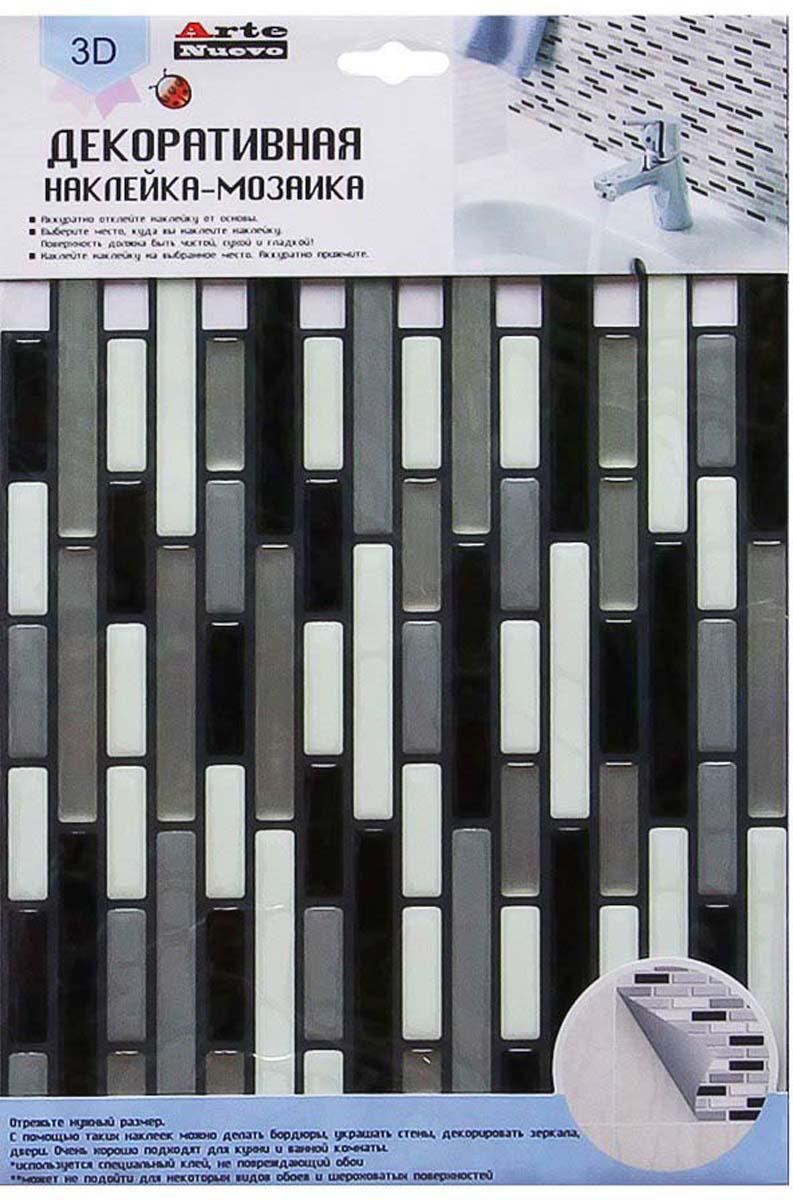 Наклейка-мозаика декоративная Arte Nuevo Дизайн 3, 35,5 х 24,2 смFYO-S-1002Декоративная наклейка - мозаика