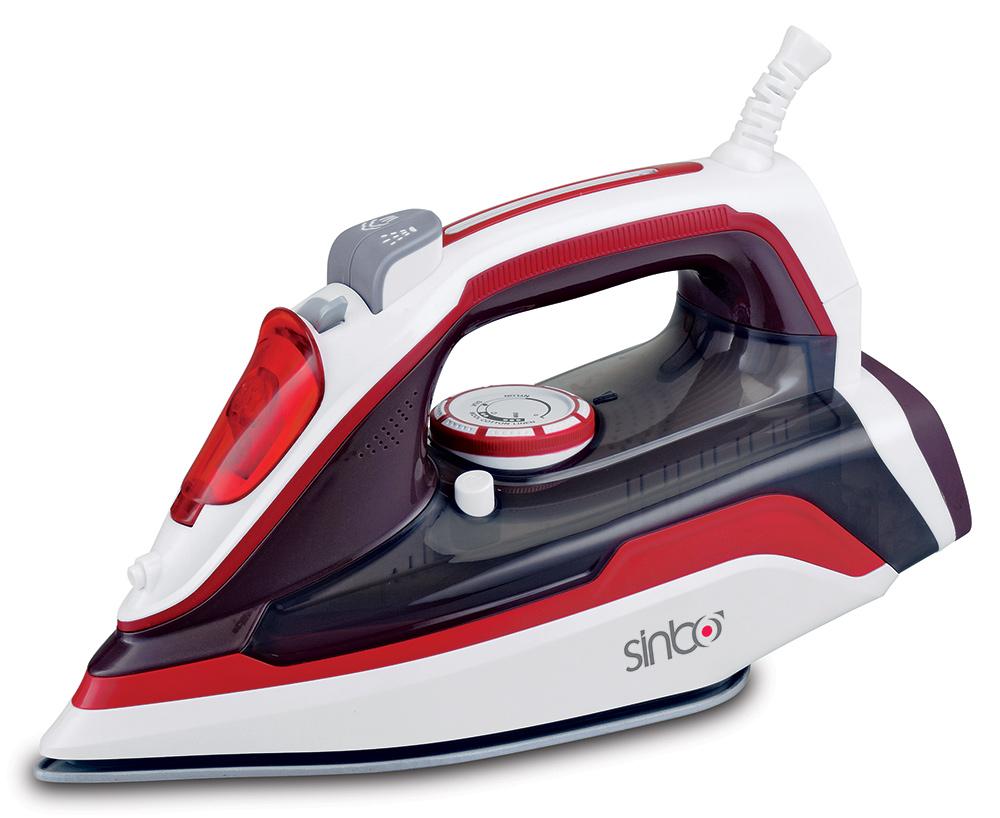Sinbo SSI 2898, Red White утюг SSI 2898