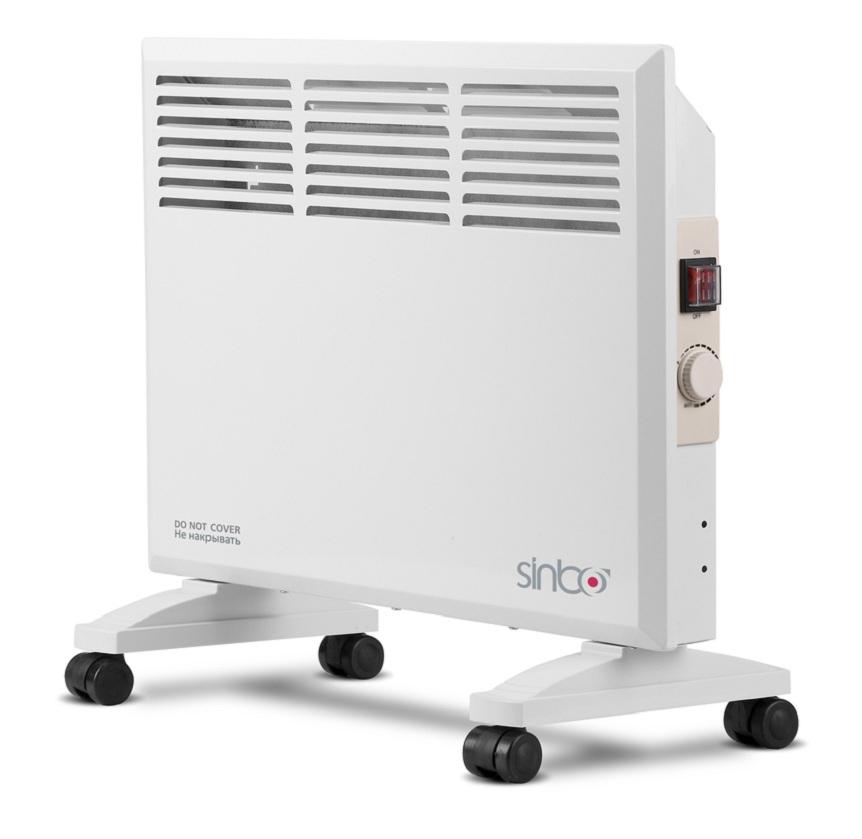 Sinbo SFH 3365, White конвекторSFH 3365Sinbo SFH 3365, White конвектор электрический, мощность 1000 Вт.