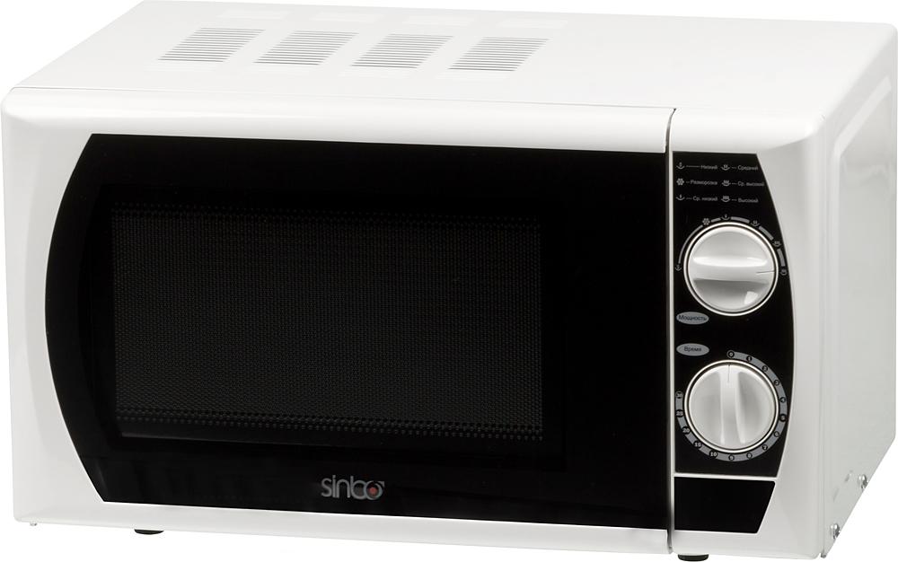 Sinbo SMO 3657, White Black микроволновая печь