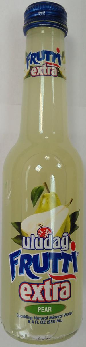 Uludag Frutti Extra Груша напиток слабогазированный, 0,25 л uludag frutti extra дыня напиток слабогазированный 0 25 л