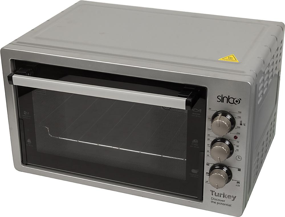 Sinbo SMO 3674, Gray электрическая печьSMO 3674Sinbo SMO 3674, Gray электрическая печь. Объем 40 л, мощность 1500 Вт.