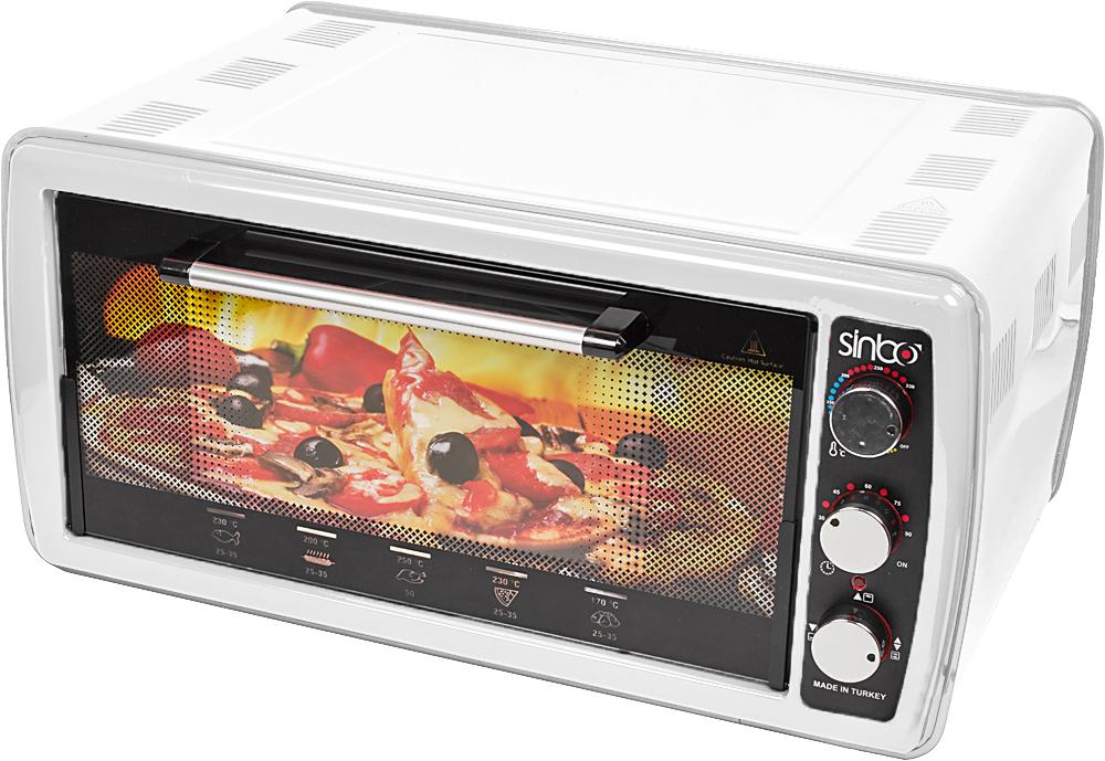 Sinbo SMO 3641, White электрическая печь realflame dewy bl электрическая печь декоративная