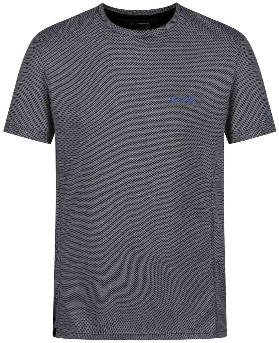 Футболка мужская Regatta Hyper-Cool, цвет: серый. RMT167-038. Размер XL (56) футболка regatta футболка cline