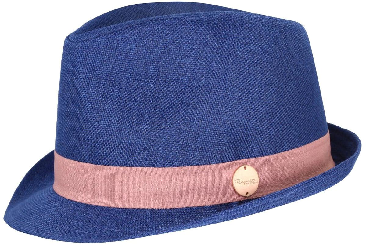 Шляпа_от_Regatta_выполнена_из_100%25_полиэстера._Декоративная_лента_с_металлическим_значком_с_логотипом.