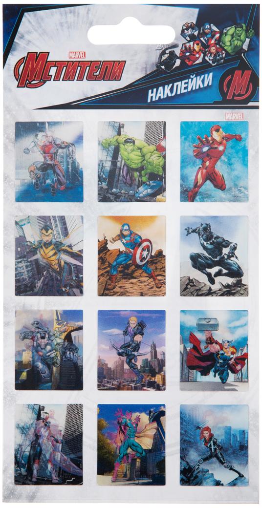 Липляндия Набор наклеек Мстители 3Д 1