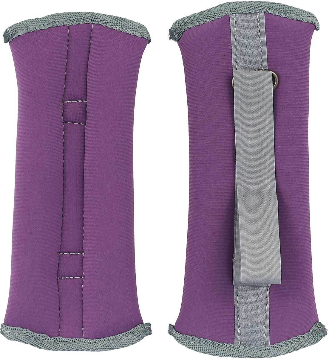 Утяжелитель спортивный Indigo Неопреновые, цвет: фиолетовый, 0,3 кг, 2 шт утяжелитель браслет для рук и ног indigo цвет красный 0 3 кг 2 шт