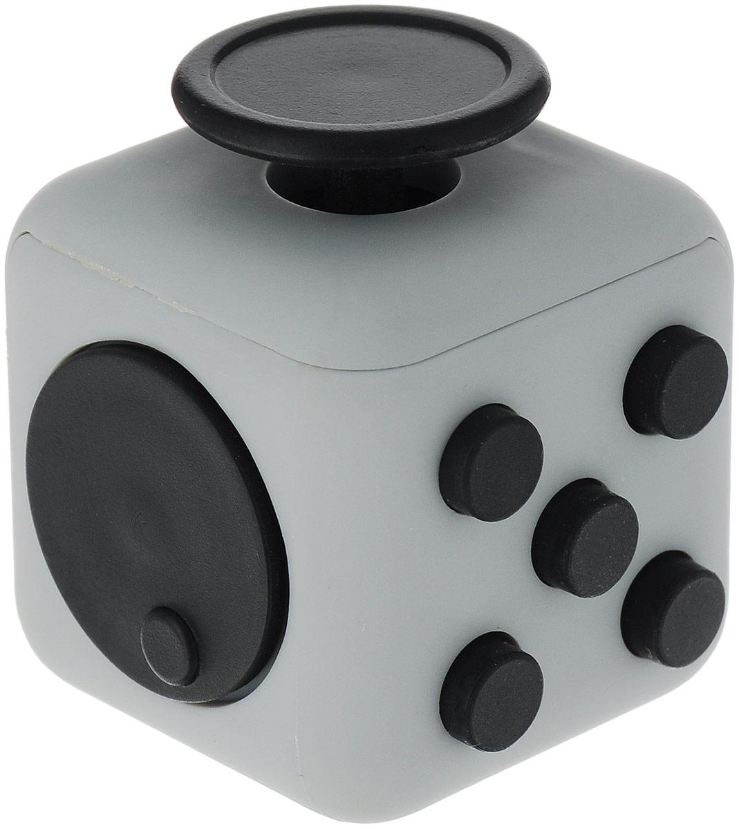 ABtoys Антистрессовая игрушка Кубик цвет серый
