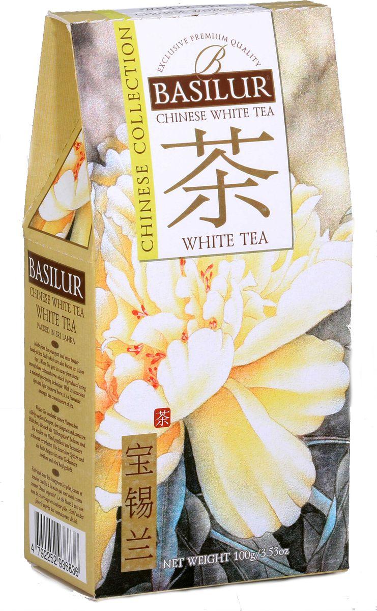 Basilur White Tea белый листовой чай, 100 г чайники и кофейники на кухню basilur