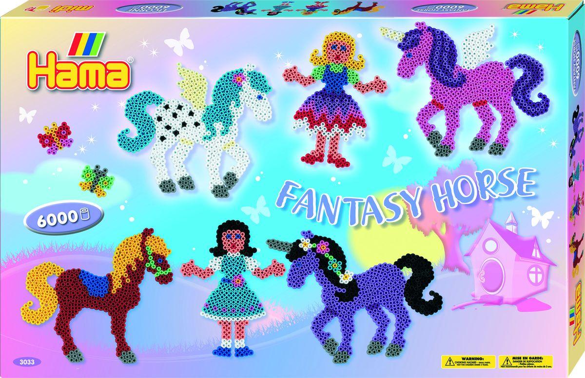 Hama Термомозаика Midi Сказочные лошадки Принцесса набор сундучков roura decoracion 26 х 20 х 15 см 2 шт 34791