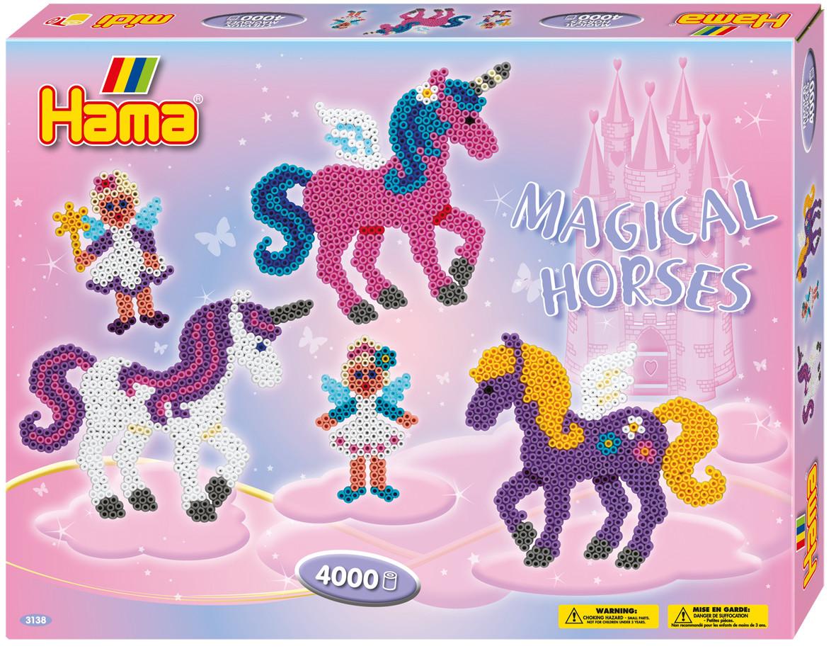 Hama Термомозаика Midi Волшебные лошадки термомозаика собака 2456256