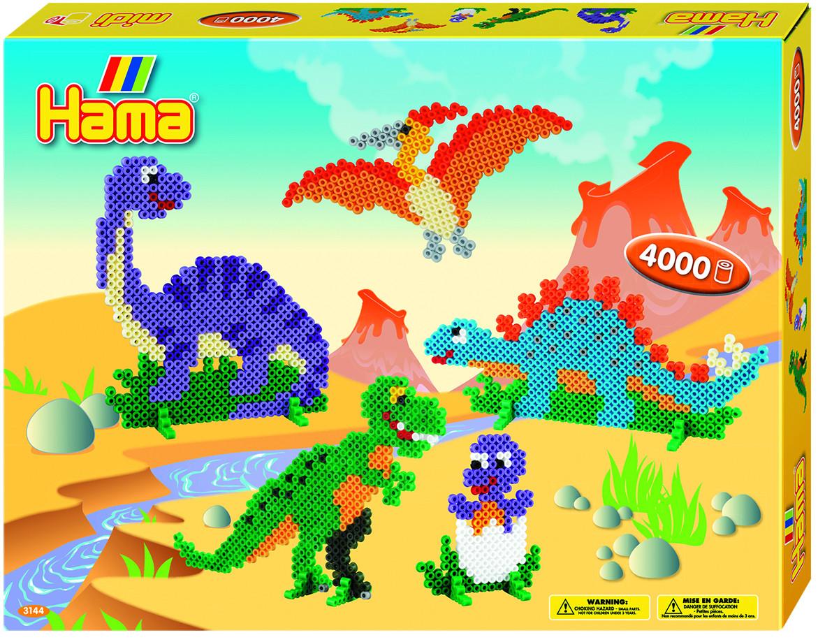 Hama Термомозаика Midi Динозавры термомозаика собака 2456256