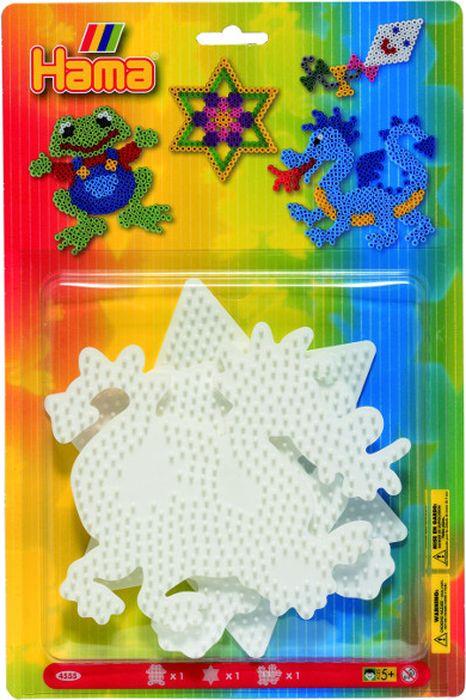 HamaОсновы для термомозаики Лягушка Звезда Дракон Malte Haaning Plastic A/S