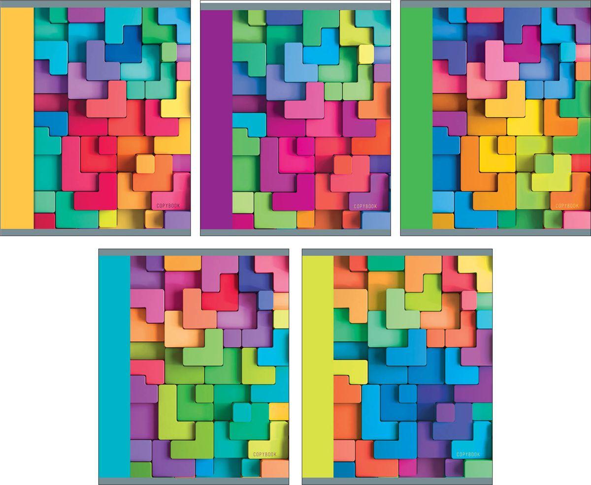 Unnika Land Тетрадь Яркая мозаика 48 листов в клеткуТК485609Стильные, яркие обложки тетрадей 48 листов привлекают внимание, их легко найти среди других и можно использовать разные цвета, чтобы распределить по предметам и создать общий стиль обложек своего обучения.