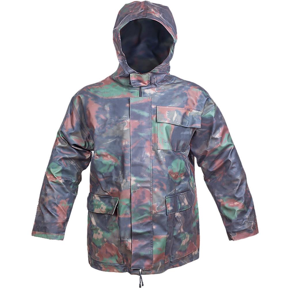Куртка рыболовная мужская Дюна, цвет: хаки. 157_k-142. Размер 56/58, рост 182-188