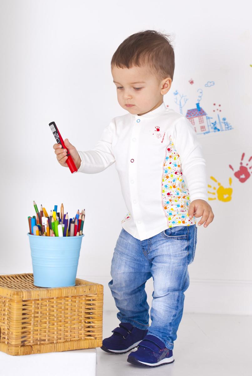 Кофта для мальчика Мамуляндия, цвет: разноцветный. 18-104. Размер 86