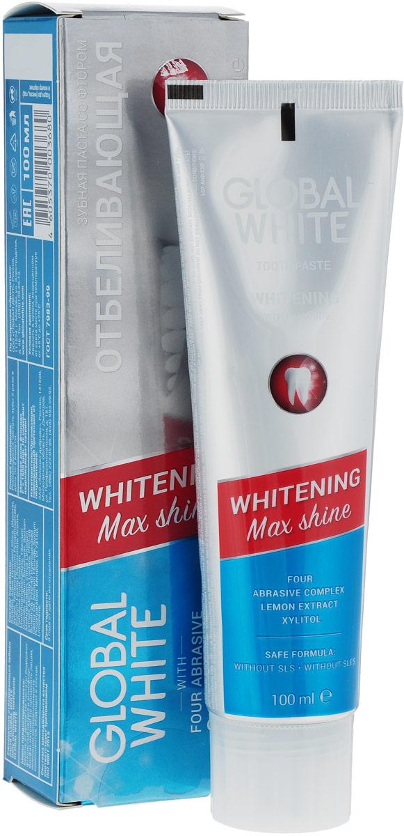 Global WhiteНабор отбеливающий:  гель 5 мл, зубная паста 2 шт Global White