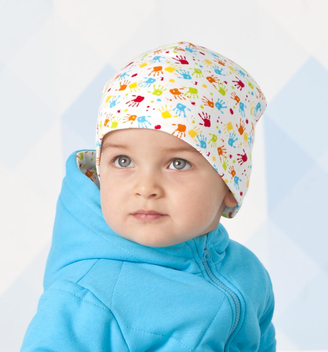 Шапка детская Мамуляндия, цвет: разноцветный, 2 шт. 18-1012. Размер 40
