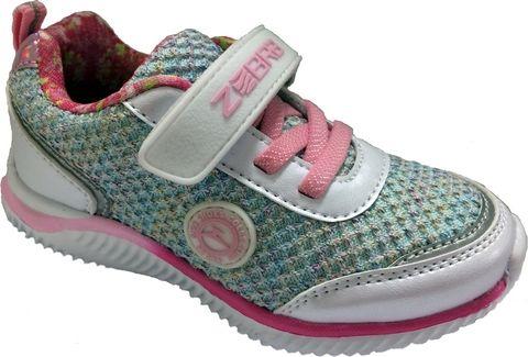 Кроссовки для девочки Зебра, цвет: серый. 12280-2. Размер 31