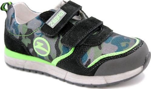 Кроссовки для мальчика Зебра, цвет: черный. 12395-1. Размер 2512395-1Комфорт и максимальное удовольствие от использования – это модные, стильные, яркие, оригинального дизайна кроссовки ТМ Зебра.Верх и подкладка из натуральных, комбинированных, инновационных и высокопрочных сетчатых материалов, которые обеспечивают дышащий эффект и гарантируют оптимальный микроклимат внутри.Анатомическая профилированная двухслойная вкладная стелька, застежки велькро, прочный задник и подносок, высокотехнологичная подошва дают правильное, удобное и безопасное расположение стопы, предотвращающее развитие плоскостопия и каких-либо деформаций.Светоотражатели - блестящие швы и вставки - дополнительная возможность обеспечения безопасности ребенка на улице.