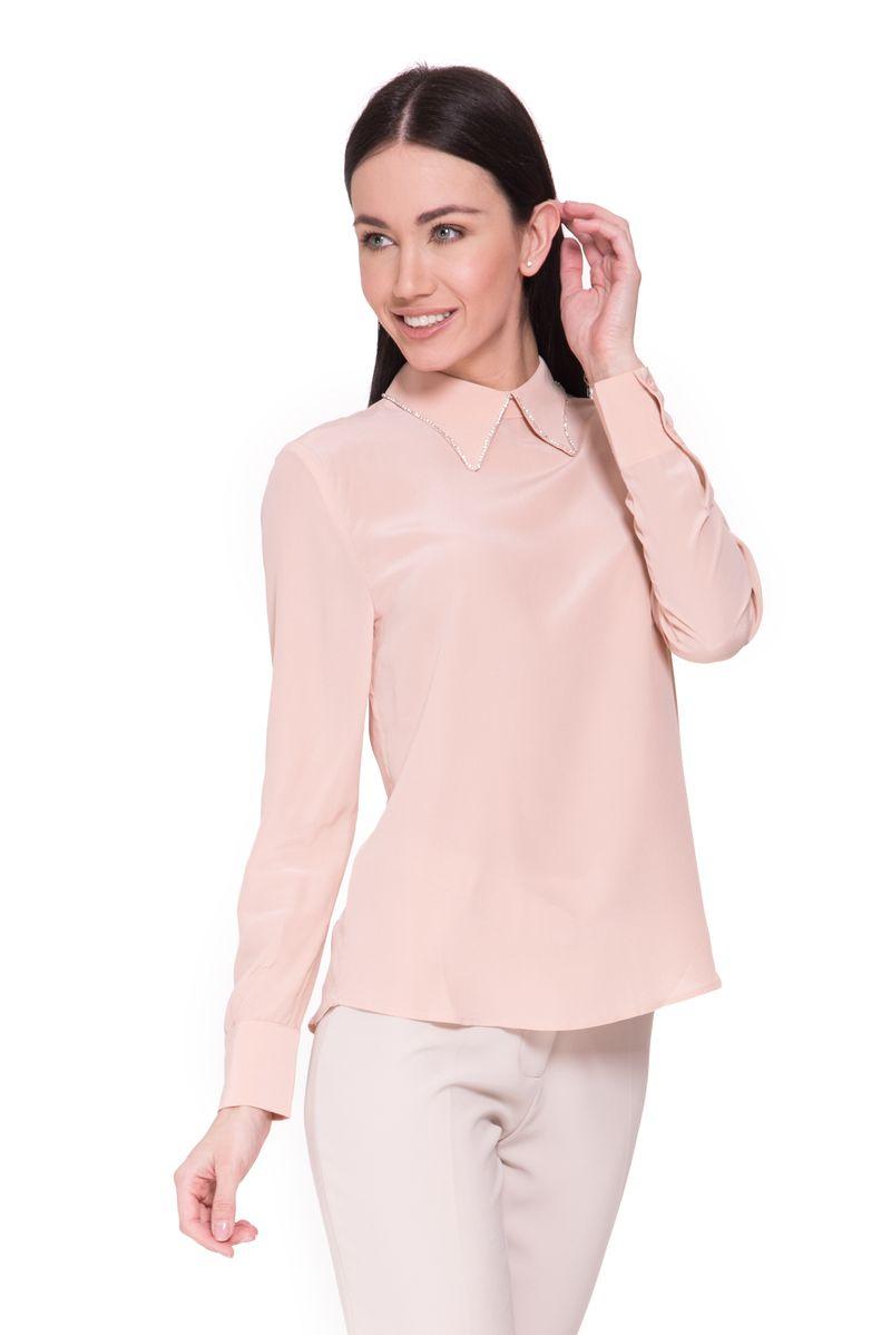 Блузка женская Lusio, цвет: коралловый. SK18-160048. Размер S (42/44) цена 2017