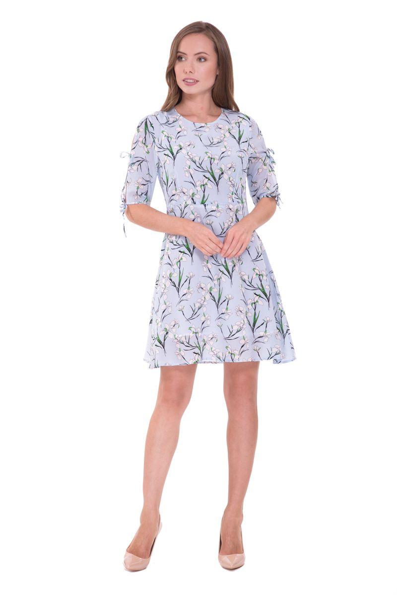 Платье Lusio, цвет: голубой. SK18-020367. Размер S (42/44)