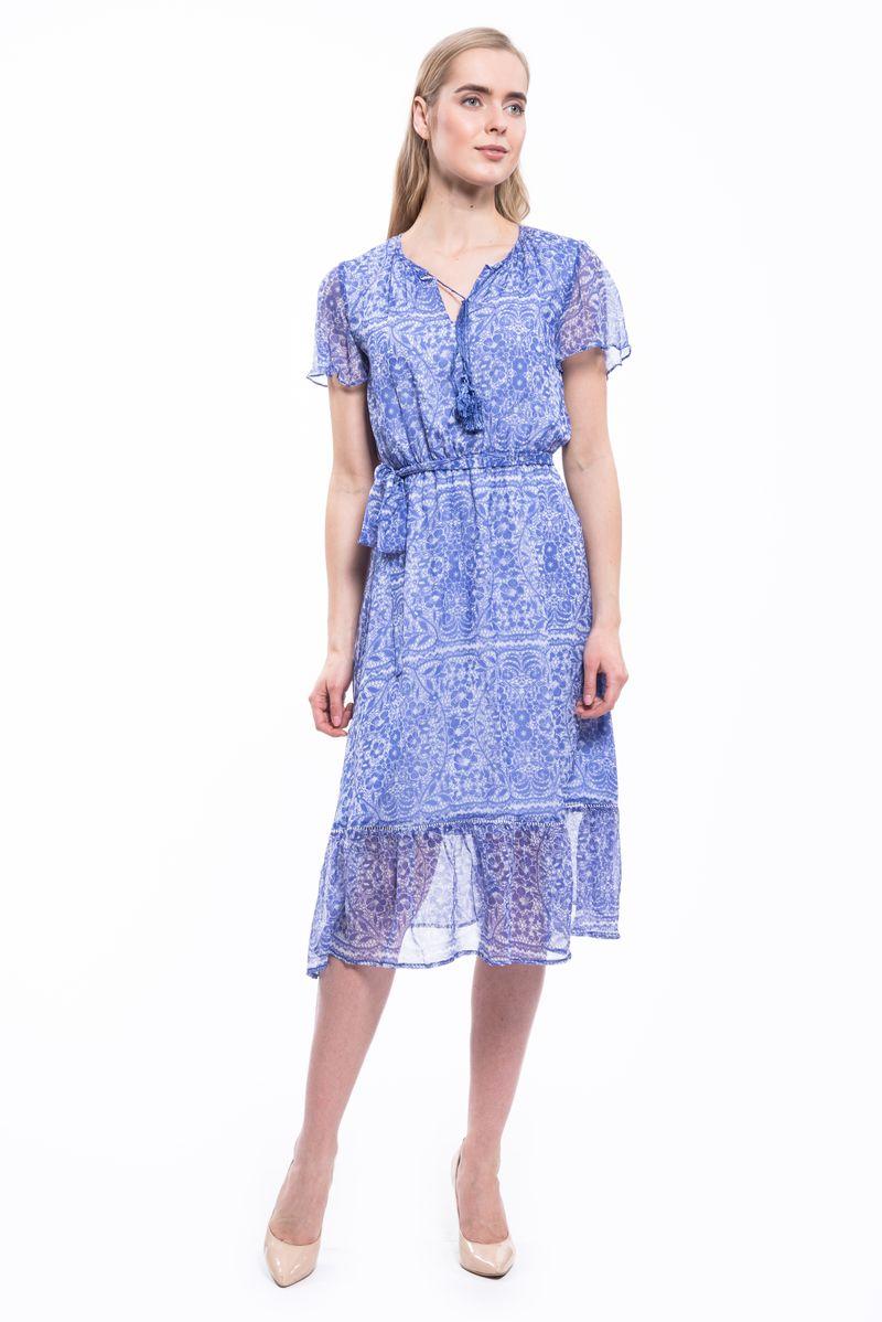 Платье Lusio, цвет: голубой. SS17-020206. Размер S (42/44)