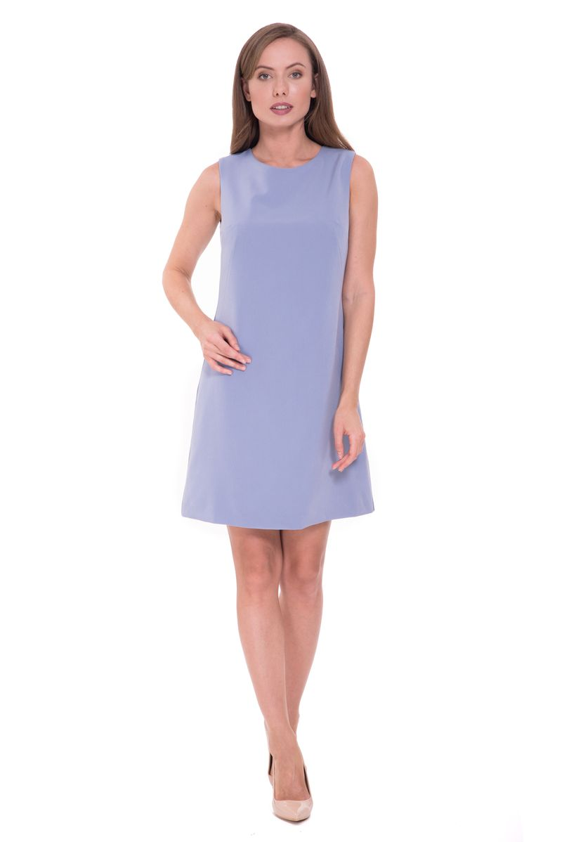 Платье Lusio, цвет: голубой. SS18-020162. Размер XS (40/42)