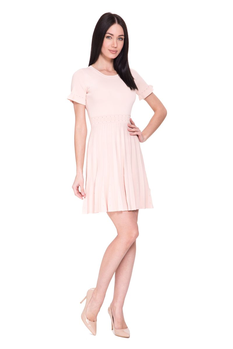 Платье Lusio, цвет: розовый. SK18-020368. Размер  (42/44)