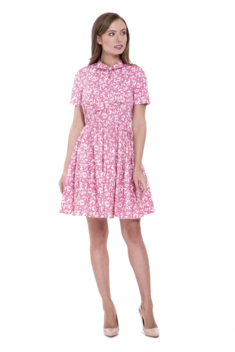 Платье Lusio, цвет: розовый. SS18-020248. Размер XS (40/42)
