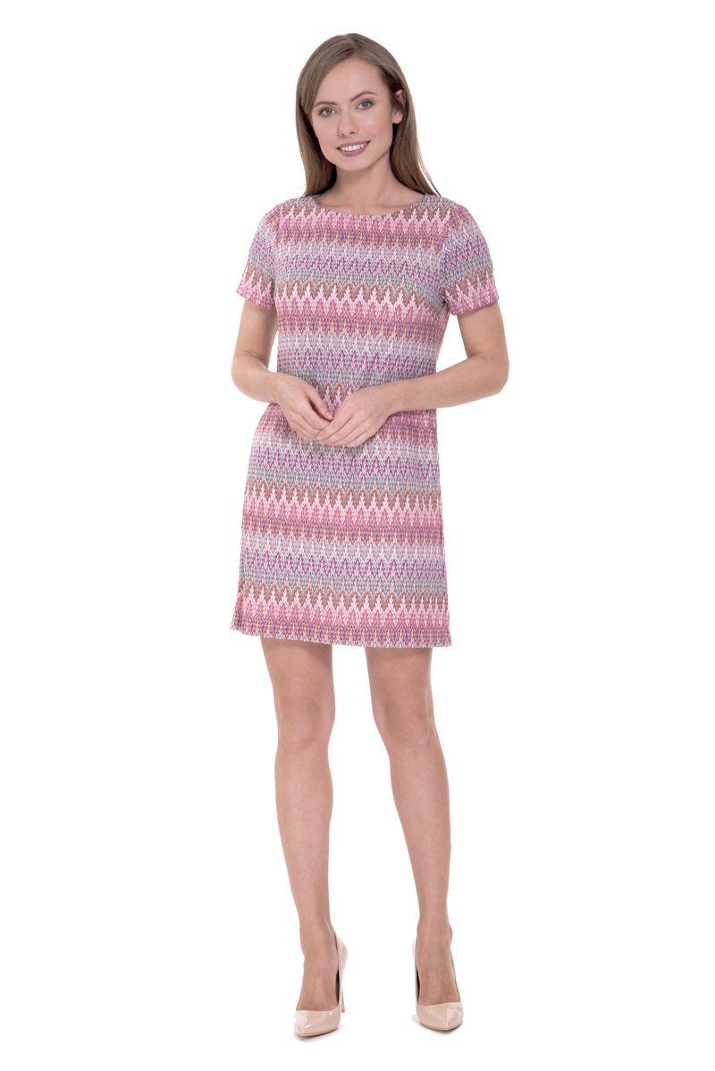 Платье Lusio, цвет: розовый. SS18-020295. Размер XS (40/42)