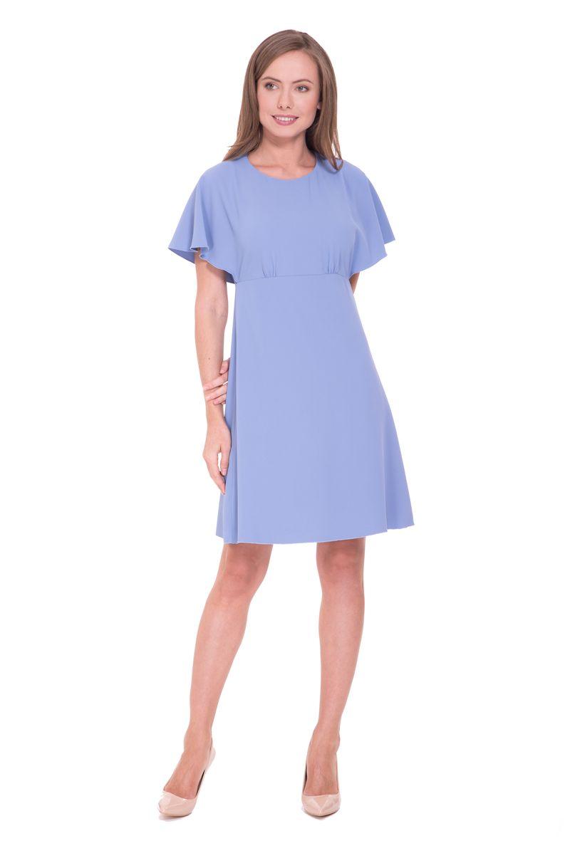 Платье Lusio, цвет: синий. SS18-020124. Размер XS (40/42)