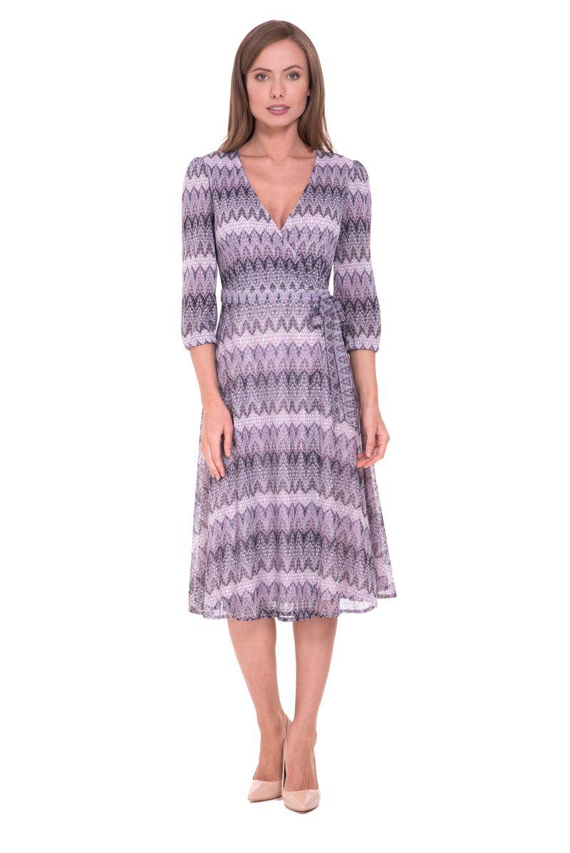 Платье Lusio, цвет: сиреневый. SS18-020223. Размер XS (40/42) платье lusio цвет сиреневый ss18 020223 размер xs 40 42