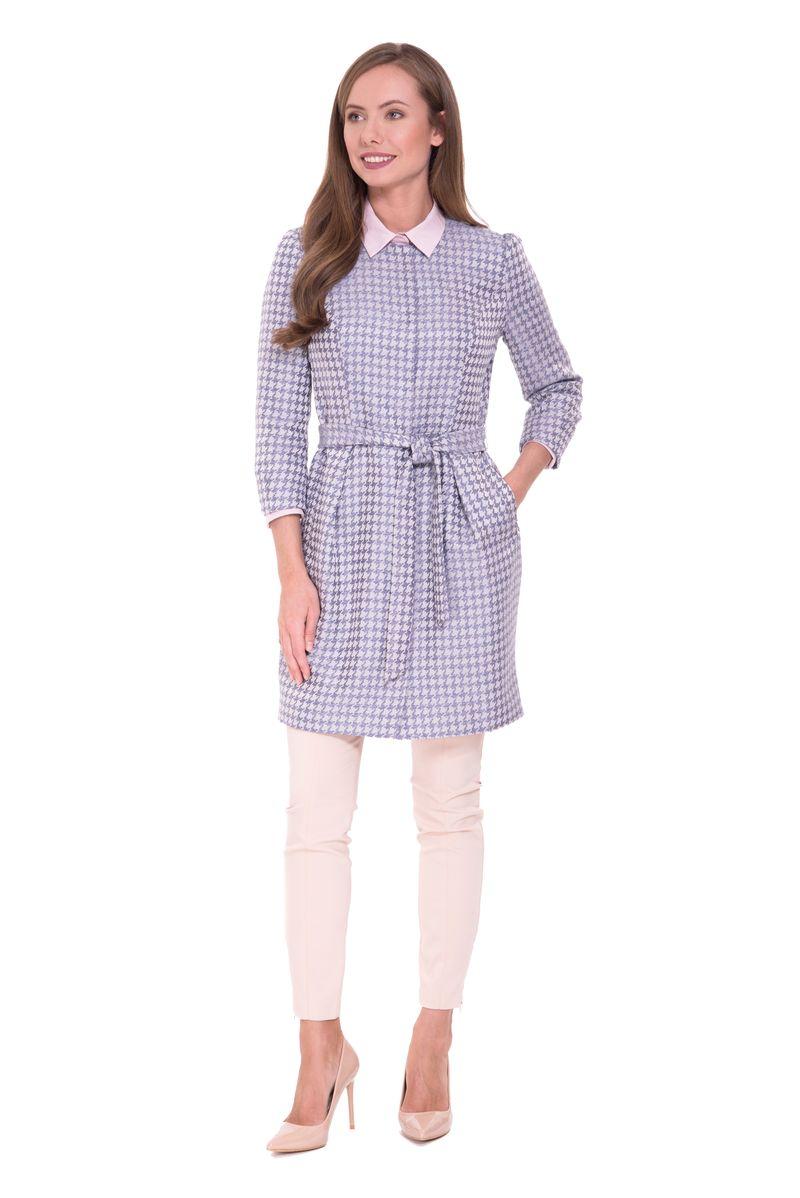 Плащ женский Lusio, цвет: сиреневый. SS18-360006. Размер XS (40/42) платье lusio цвет сиреневый ss18 020223 размер xs 40 42
