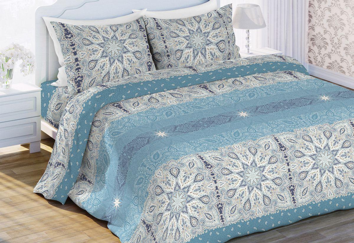 Комплект белья Любимый дом Чародей, 2-х спальное, наволочки 70x70. 6428-1 любимый дом любимый дом кпб солнечный мак 2 спал
