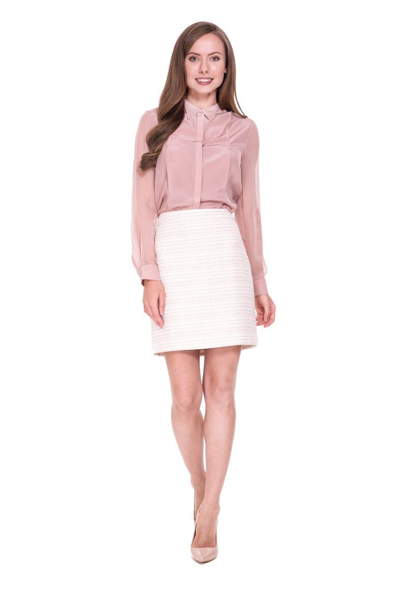 Юбка Lusio, цвет: кремовый. SS18-030035. Размер XS (40/42) платье lusio цвет сиреневый ss18 020223 размер xs 40 42