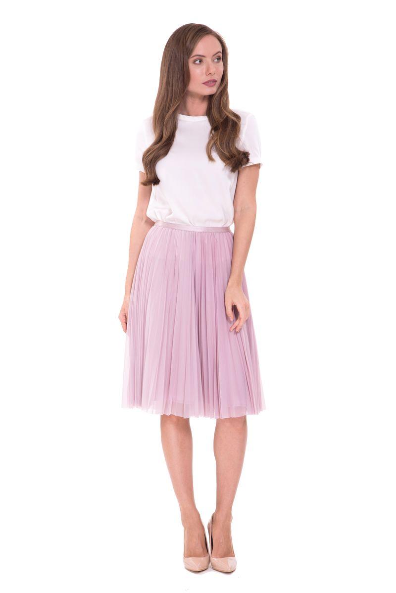 Юбка Lusio, цвет: розовый. SS18-030040. Размер XS (40/42) платье lusio цвет сиреневый ss18 020223 размер xs 40 42
