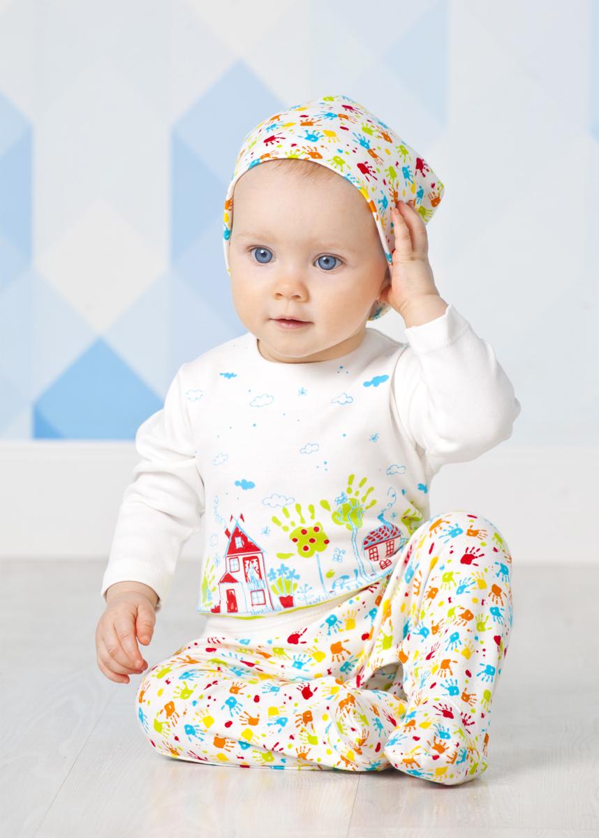 Шапка для девочки Мамуляндия, цвет: разноцветный, 2 шт. 18-2015. Размер 52