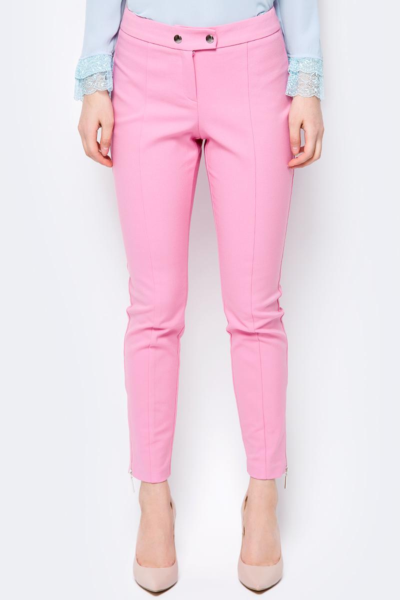 Брюки женские adL, цвет: розовый. 15333480000_007. Размер XS (40/42)
