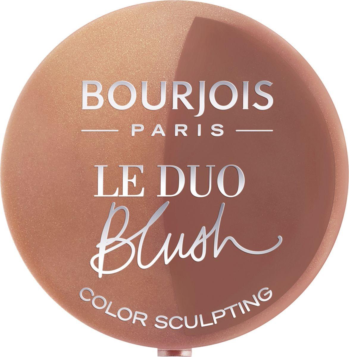 Bourjois Румяна двойные Le Duo Blush, Тон №03, 2,4 г румяна bourjois румяна bourjois blush тон 54