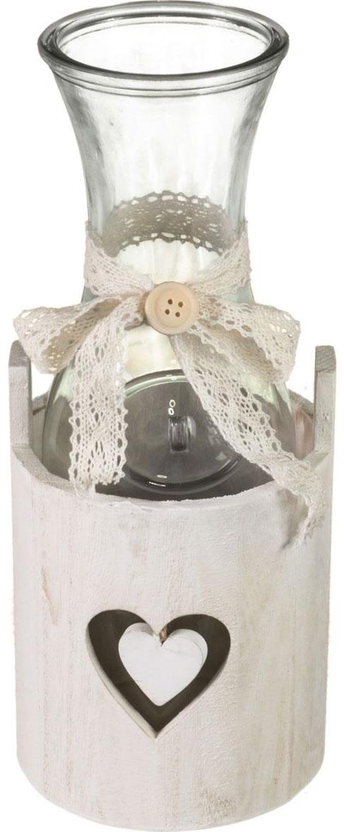"""Банка для сыпучих и жидких продуктов Miralight """"Прованс """"  и плетеная подставка в виде корзины. Такая банка подойдет для сахара, круп и многого другого. Крышка плотно прилегает к стенкам емкости.Такой набор ярко оформит интерьер вашей кухни и станет незаменимым для хранения продуктов. Характеристики: Объем банок: 1,0 лМатериал: стекло."""