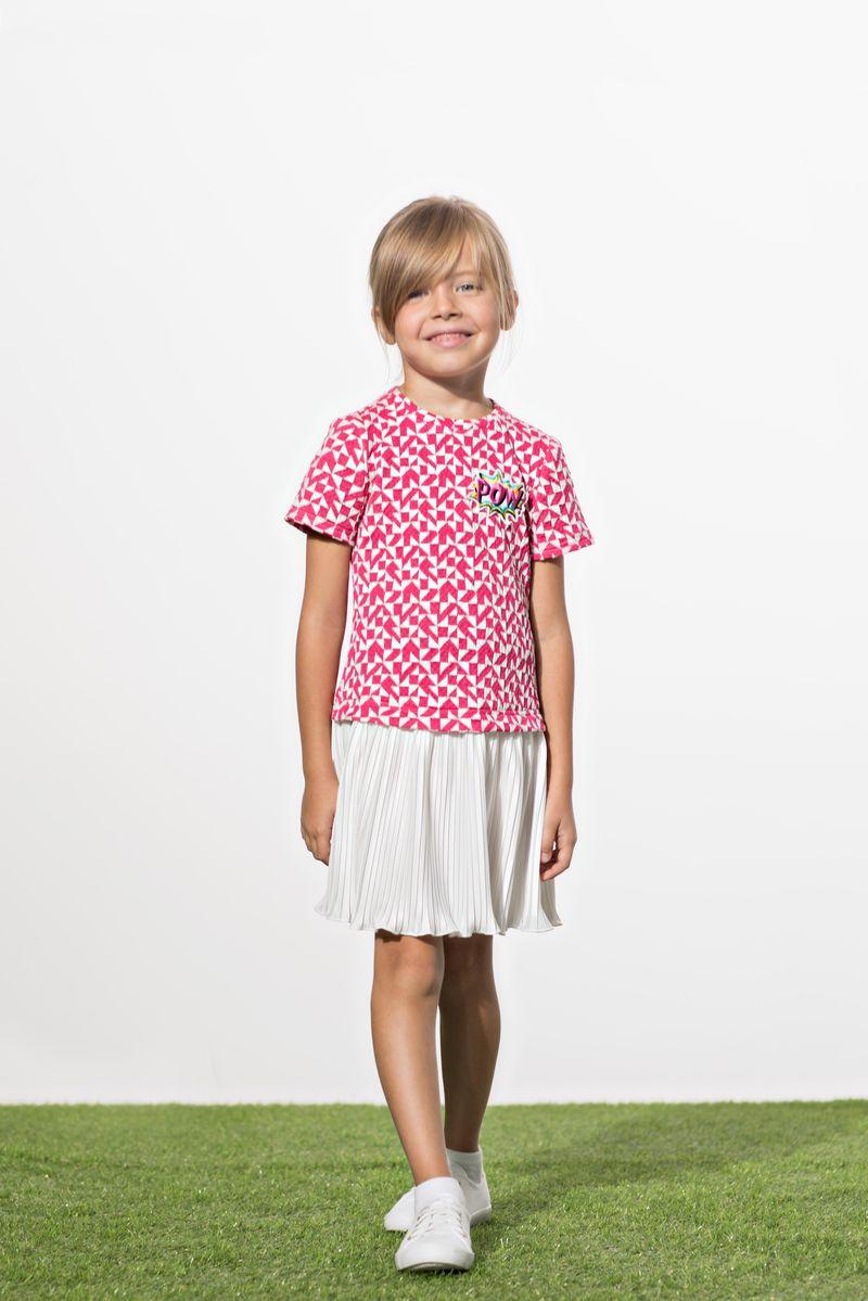 Платье для девочки Смена, цвет: фуксия. 18с029. Размер 152/158 hustler платье с вырезом каплей
