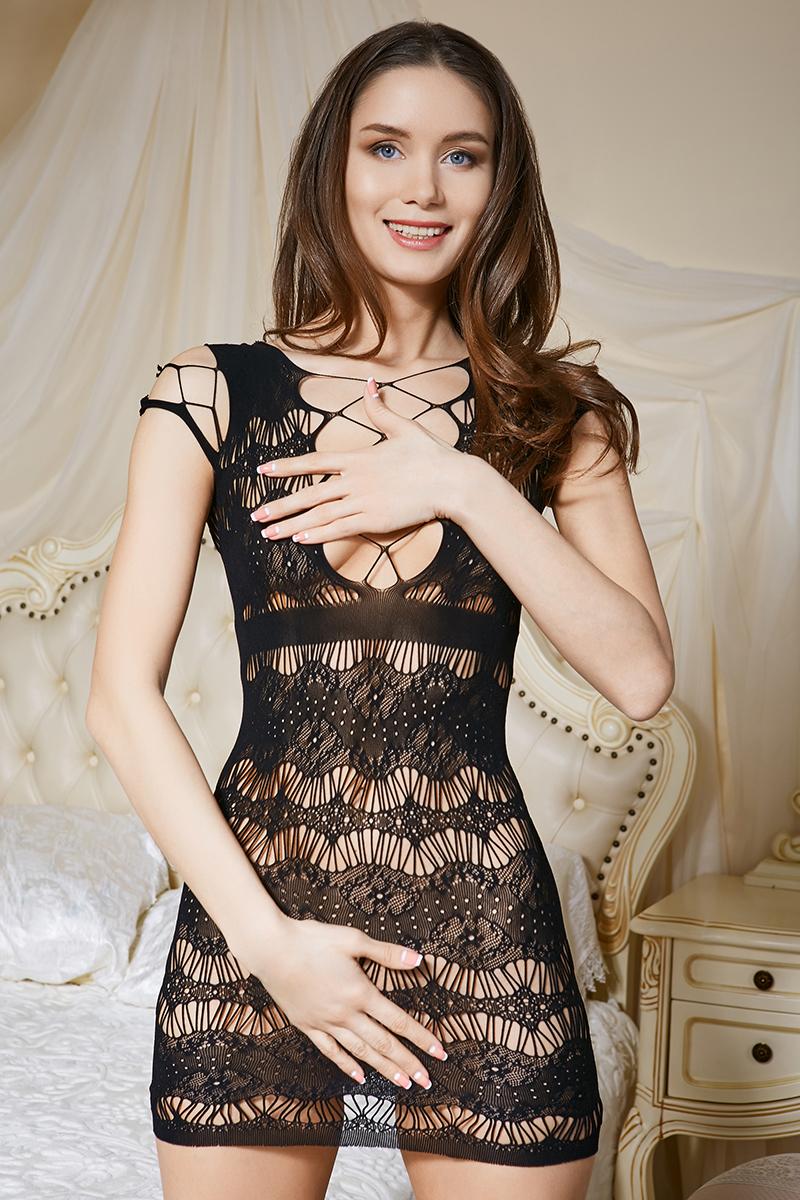 Эротическое боди женское Le Cabaret, цвет: черный. 203583. Размер 42/46 красное боди emma xxl 3xl