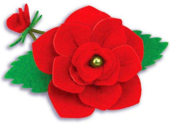 Clever Набор для изготовления украшения для волос Роза