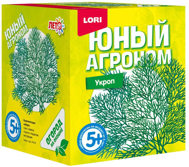 Lori Набор для опытов и экспериментов Юный агроном Укроп