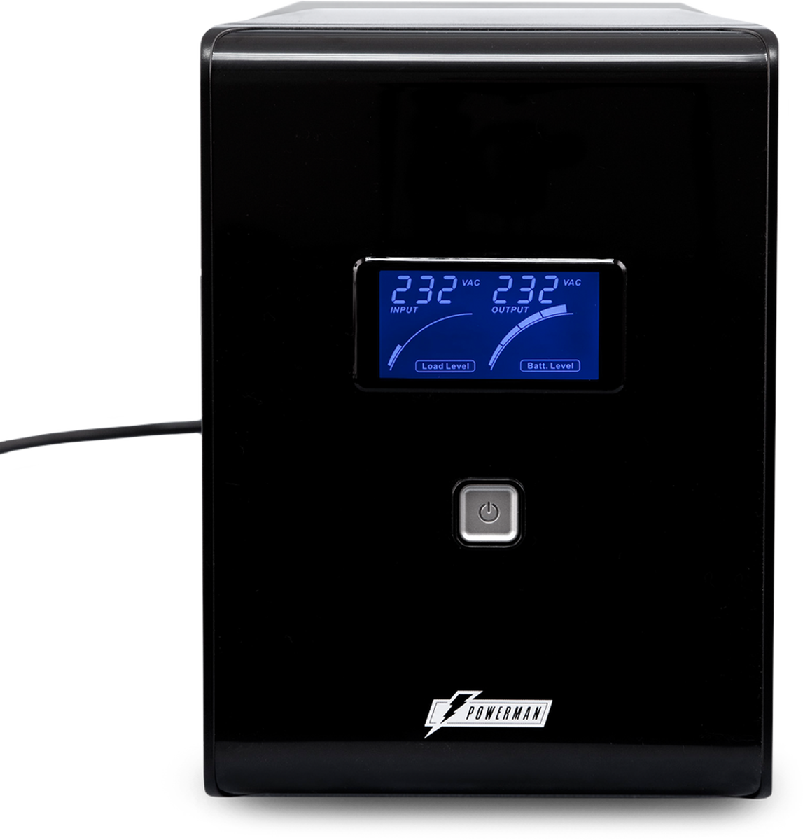 Источник бесперебойного питания Powerman UPS Smart Sine 2000, 2000 ВА источник бесперебойного питания ippon back power pro lcd 600