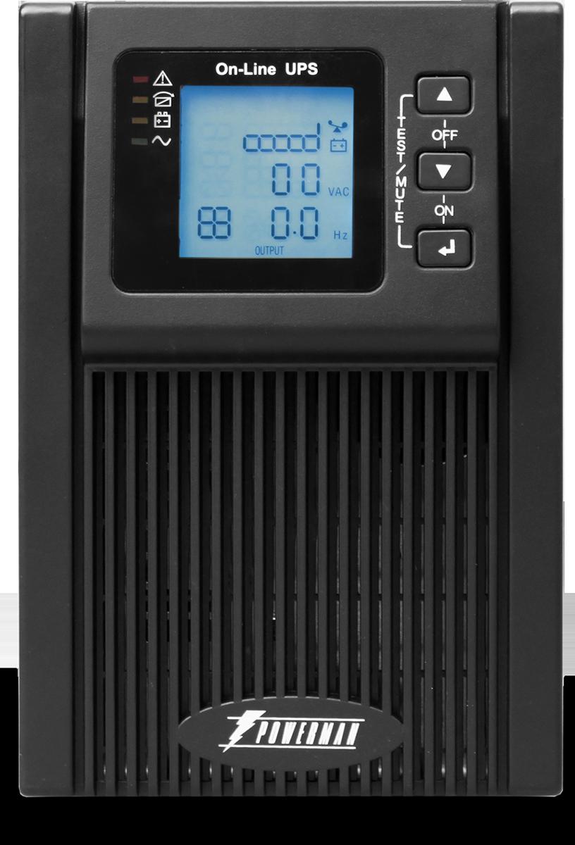 Источник бесперебойного питания Powerman UPS Online 1000, 1000 ВА источник бесперебойного питания ippon back power pro lcd 600