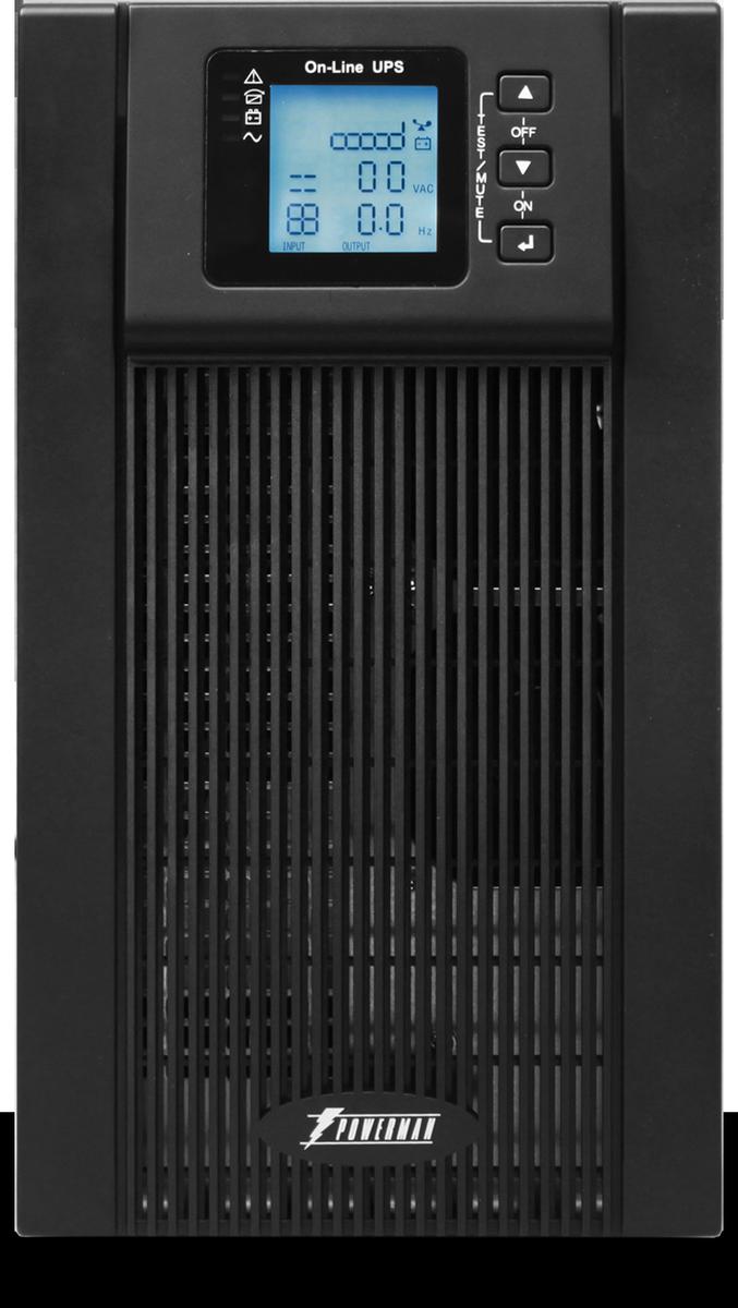 Источник бесперебойного питания Powerman  UPS Online 3000 , 3000 ВА - Источники бесперебойного питания (UPS)